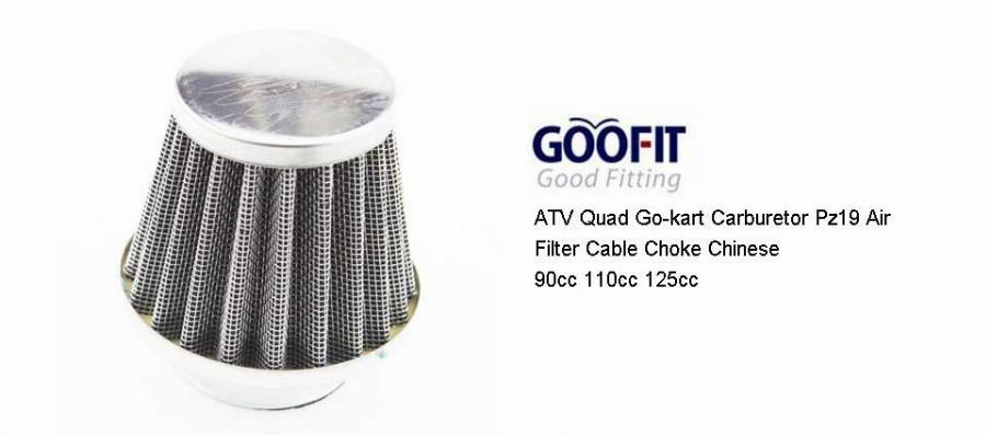 Goofit Atv Quad Go-Kart Carburador Pz19 19Mm Filtro De Ar Cabo Choke Carburador 90Cc 110Cc 125Cc Chinês 35Mm Motocicleta Group-84