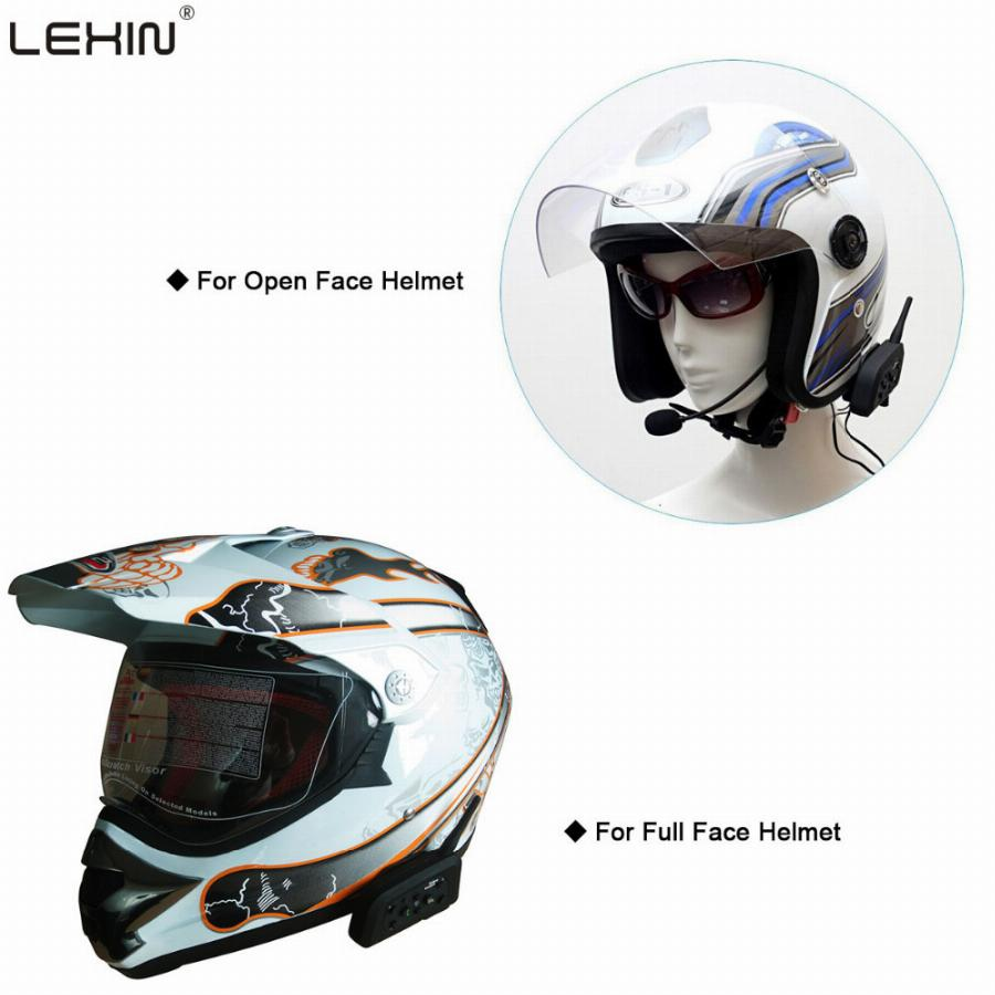 Lexin 2016 Mais Novo R6 Capacete Interfone 1200 M Motocicleta Do Bluetooth Interfone Headset 6 Pilotos Intercomunicador Do Capacete Da Motocicleta