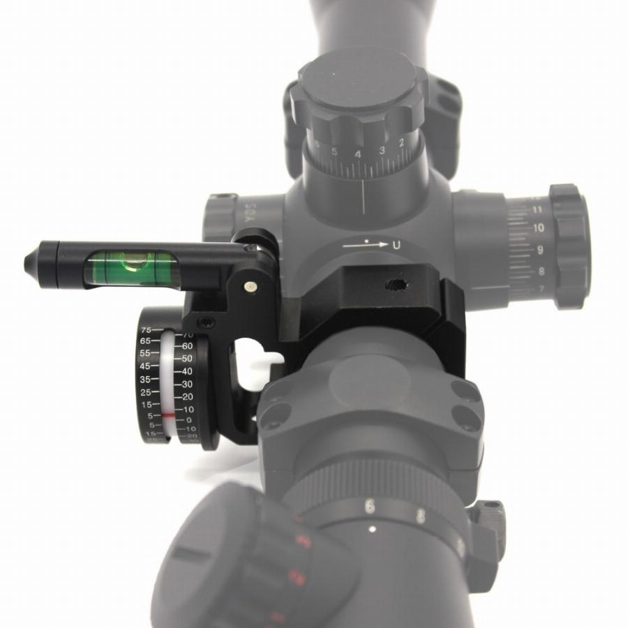 """1/"""" 25.4mm Cantilever Hunting Scope Anti Cant Bubble Level Mount Adapter"""