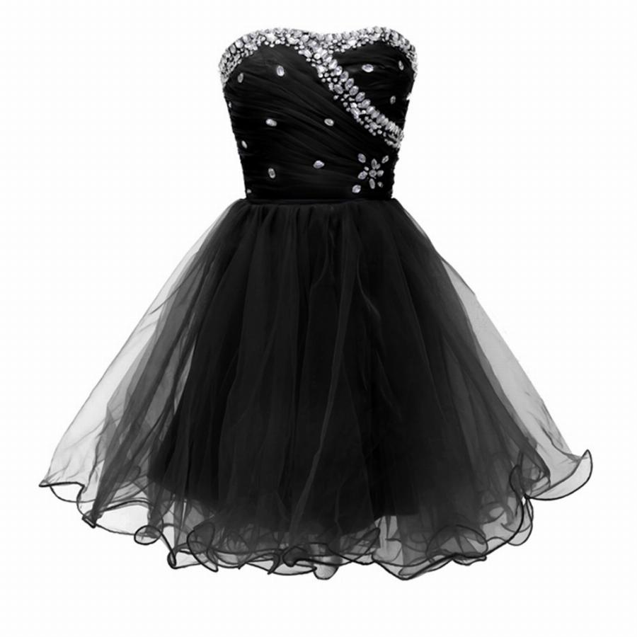 Branco Preto Curto Vestidos De Cocktail 2017 Masquerade Ball Prom Vestido Especial Ocasião Vestidos Cocktail Party Girls Vestido Do Regresso A Casa