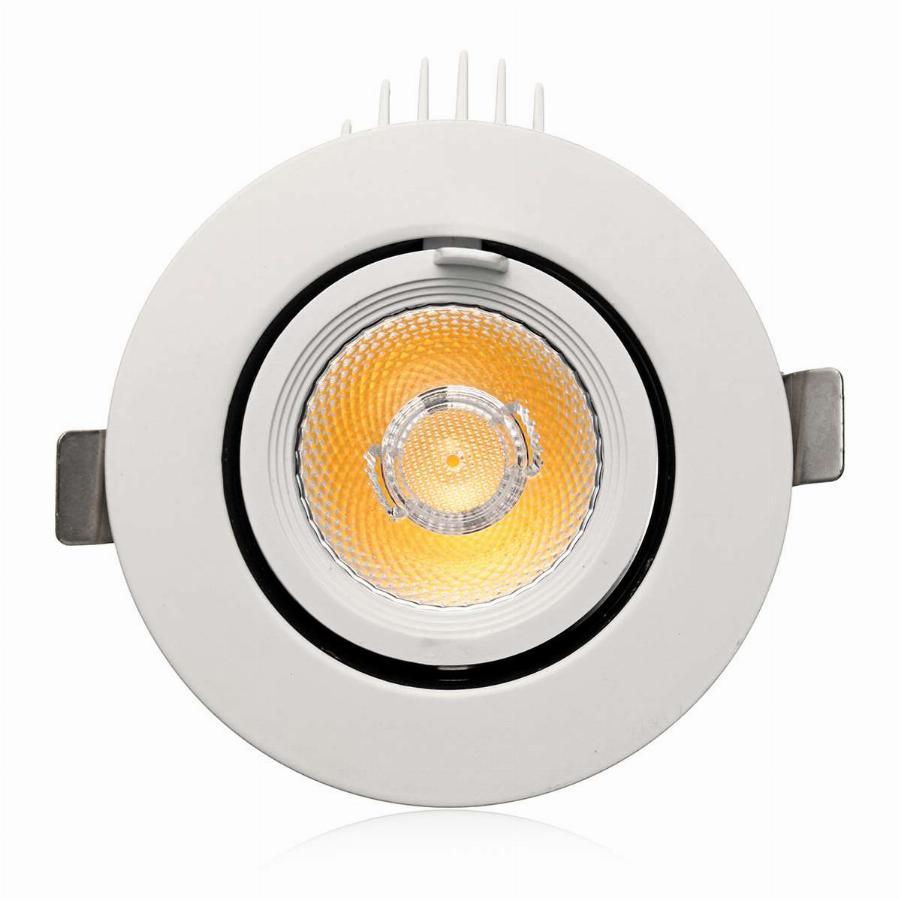 Cob Levou Downlight Dimmable Lâmpada Holofotes 5 W/7 W/12 W/15 W/20 W /30W Bulb Spotlight Iluminação Interior Home Living Room Decor Ac 220V