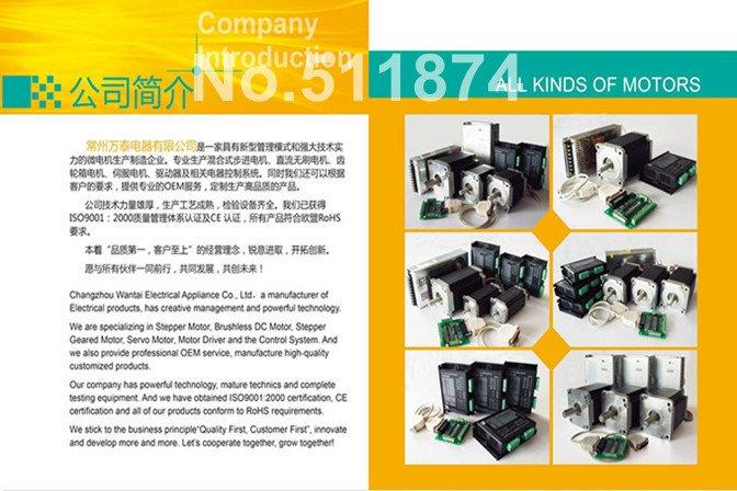Oz-In Wantai 3 Eixos Nema23 Stepper Motor 57Bygh627 4 Leads + 3 Eixo Motorista Conselho Cnc Router Ge De Fr It Nl Livre