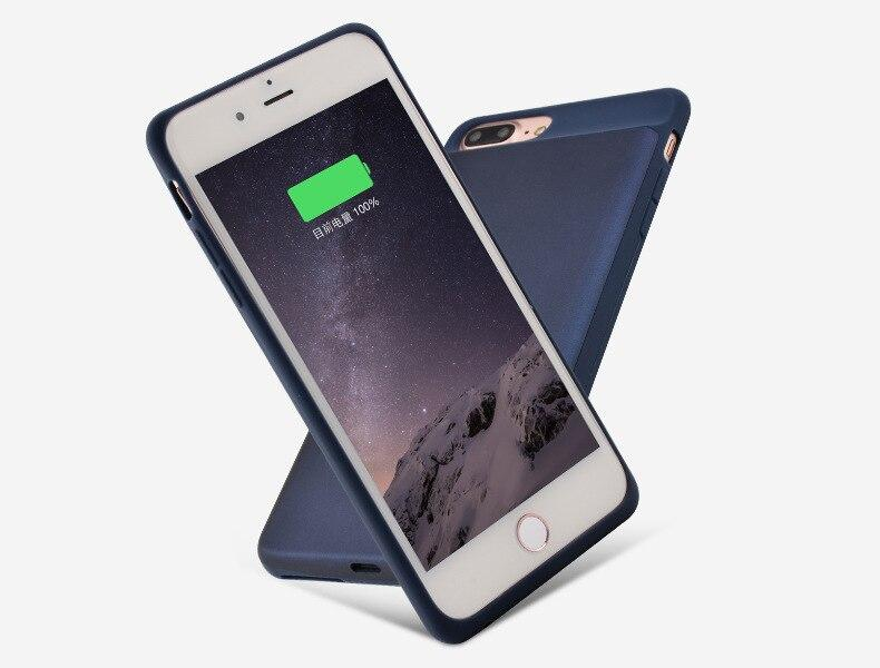 7000 Mah/5000 Mah Caixa De Bateria Ultra Slim Fina Para Iphone 8 7 6 6 S Backup De Banco De Potência Tampa Da Caixa Do Carregador Para O Iphone 6 6 S 7 8 Plus