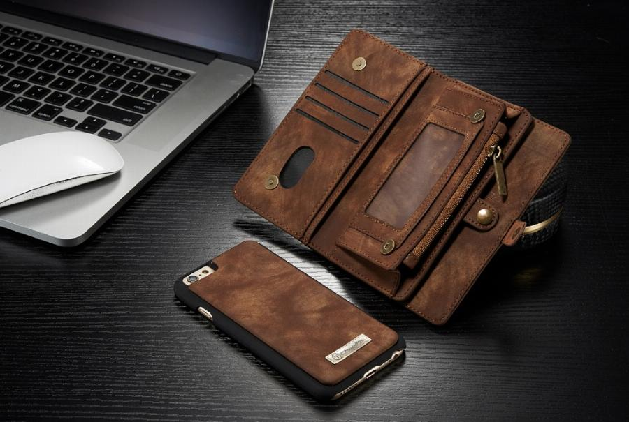 Floveme Leather Case for Samsung Galaxy Note 3 4 5 7 Case