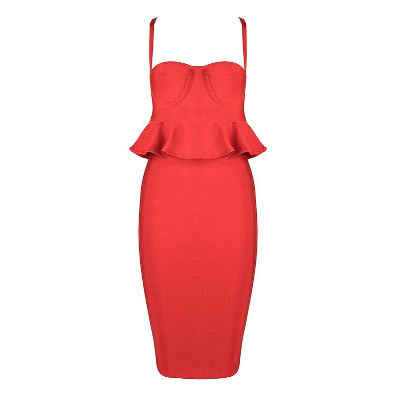 Indressme Sexy Women Bandage 2 Peça Define Sexy Strapless Spaghetti Strap Backless Ruffles Regatas Curto Mini Saia Sólidos 2019