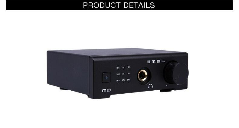 M3 De Smsl Cs4398 Dac Headphone Amplifier Amp Otg/pc Usb/optical/coaxial All-In-One Hifi 24Bit 96 Khz Usb Hd Para Decodificador De Áudio De Alta Fidelidade
