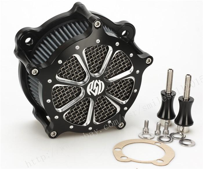 Motorcycle Air Filter Cleaner Intake Para Harley Softail Deluxe Heritage Softail Dyna Fat Bob Rua Glide Touring Flhr 93-15