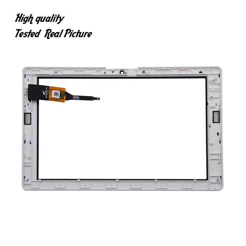 Para Acer Iconia One 10 B3-A40 Touch Screen Glass Digitador Painel De Lente De Vidro Da Frente Do Sensor