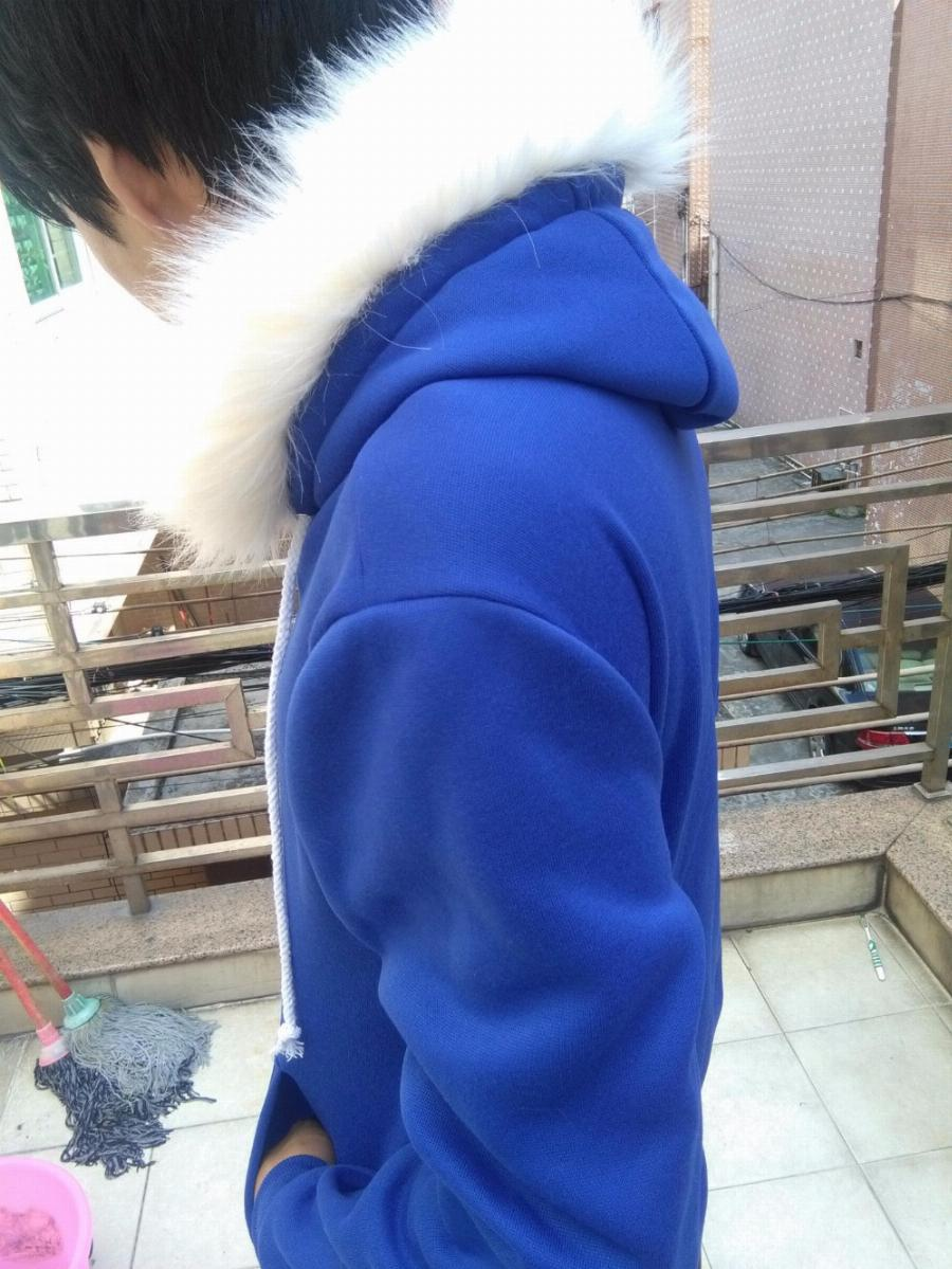 Sans Undertale Azul Camisolas Do Hoodie Brasão Cosplay Jacket