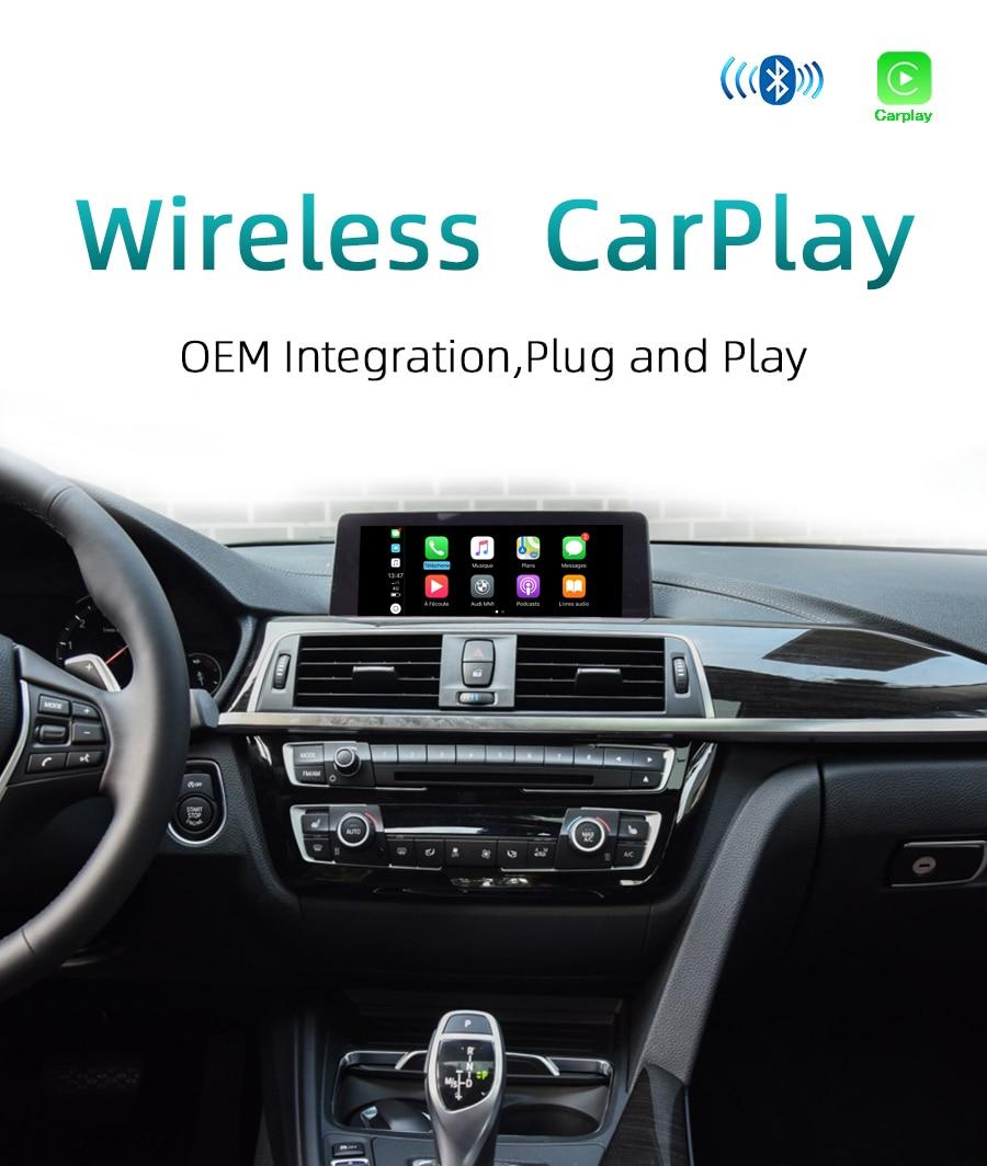Sinairyu Wifi Sem Fio Apple Carplay Para Bmw Nbt X5 X6 F15 F16 F25 F26 2013