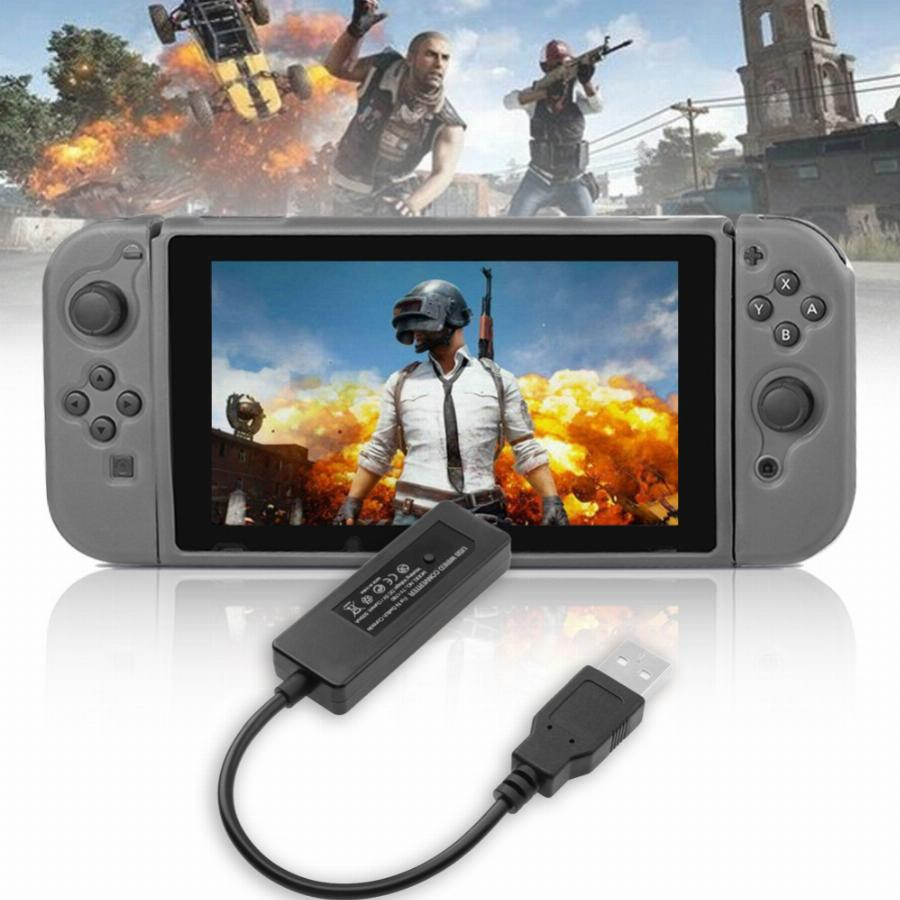1 Pc Usb Wired Led Bluetooth Adaptador Conversor Para Nintendo Interruptor Xbox Ps3 Ps4 Jogos Controlador Conversor Adaptador Sem Motorista