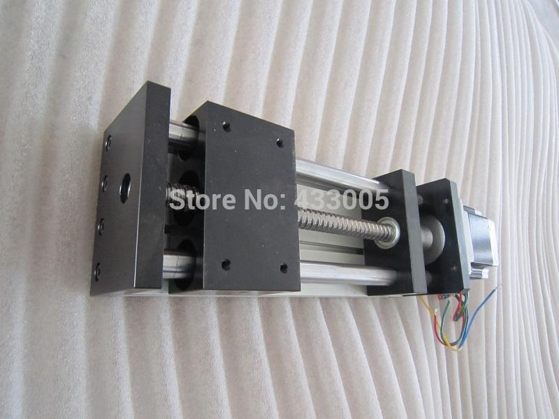 Cnc Ggp 1605 Ballscrew Sliding Tabela Curso Efectivo 50Mm Trilho De Guia Do Eixo Xyz Linear Motion + 1 Pc Nema 23 Stepper Motor
