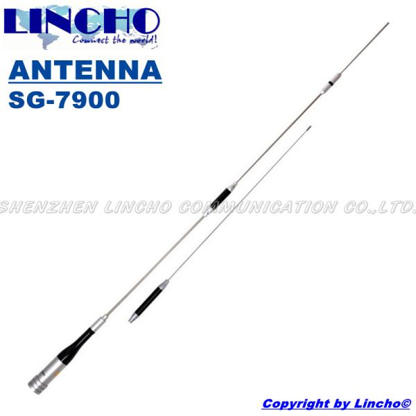 Longest Dual Band 144/430 Mhz Vhf Uhf Carro Sg 7900 Long Range High Gain Antena De Rádio Amador