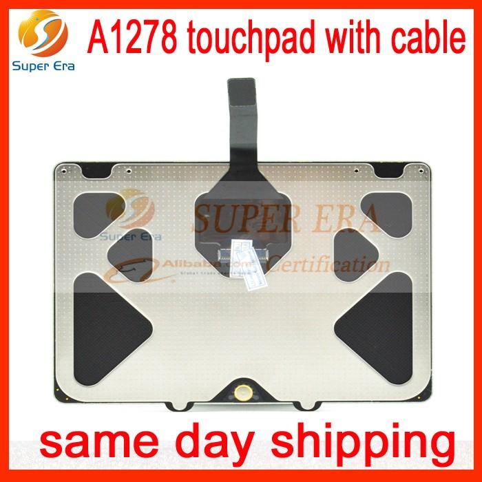 New Genuine Trackpad Touchpad W/mousepad Com Cabo Cabo Para Apple Macbook Unibody A1278 Trackpad 2009 2010 2011 2012 Anos