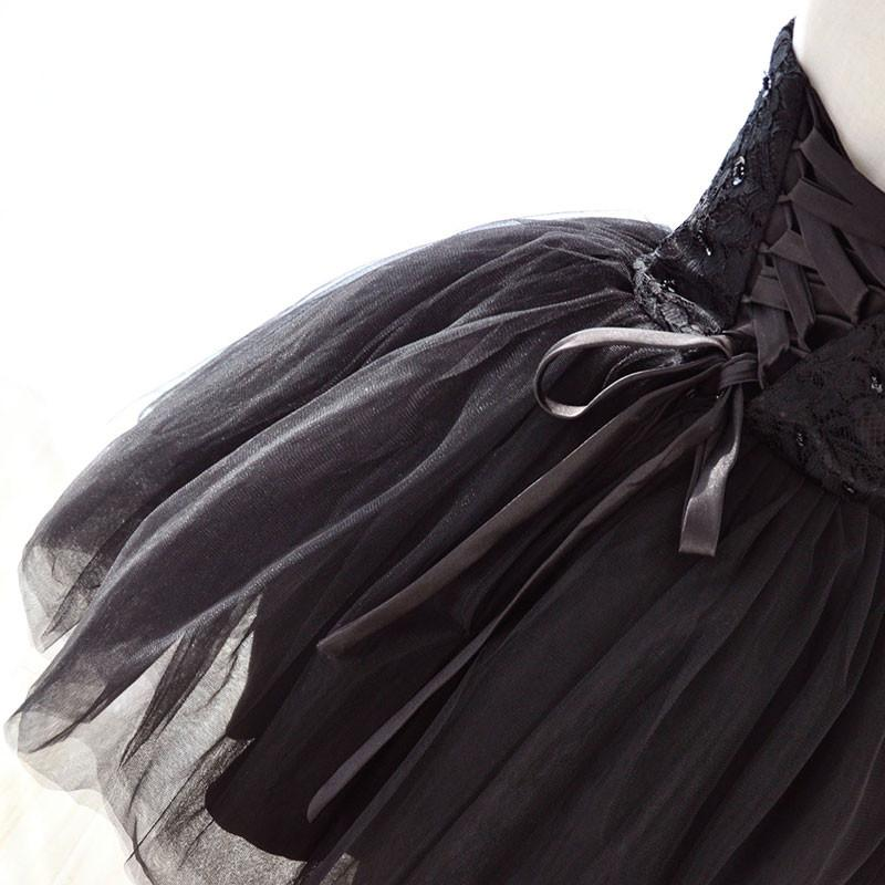 Suosikki Preto Fluindo A Linha Cocktail Dresses  Hot Sexy Na Altura Do Joelho Lace Cocktail Party Dress 2016