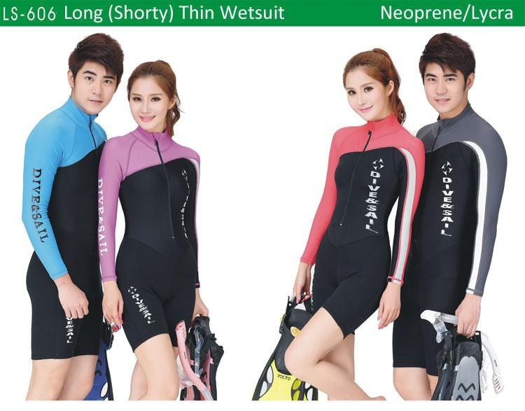 Verão Lycra Wetsuit One-Piece/1.5Mm Neoprene Long/manga Curta E Calças Curtas Diveskin Erupção Guardas 8 Designs Xs Ao Xxl
