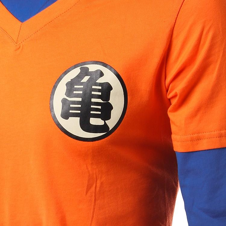 Anime Camisetas Homens Dragon Ball Camiseta Manga Longa Clothing Logotipo Da Camisa De Dragon Ball Mestre Kame Cosplay Mens Camisas 3D