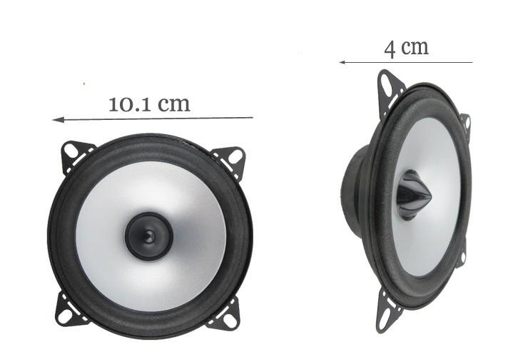 Hot 2X4 ''polegadas Speaker Car Automobile Automotive Car Hifi Alto-Falantes Gama Completa Borda Da Goma De Bolha