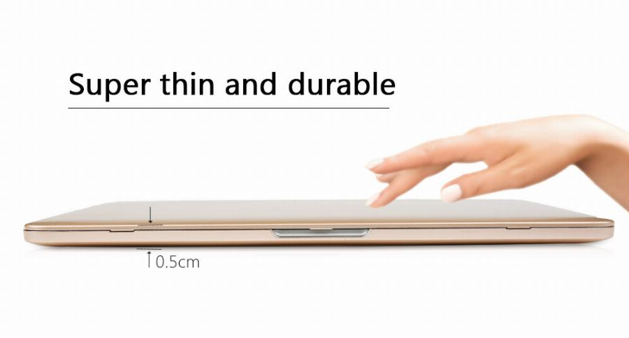 Rose Gold Metal Pulverizado Hard Case Para Novo 2016 & 2017 Macbook Pro 13 15 W/out Bar Toque A1706 A1708 Tampa Retina Air 11 12 13