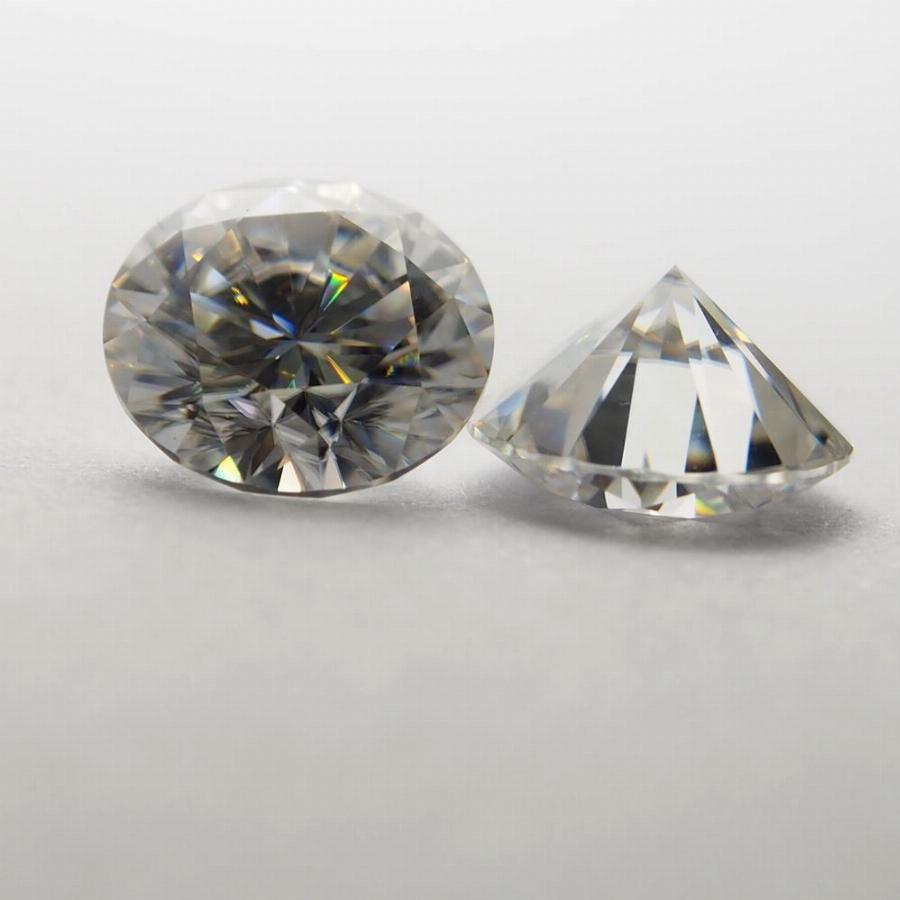 14Mm Def Redondo Branco Moissanite Pedra Solta Moissanite Diamante 10 Quilates Para Anel