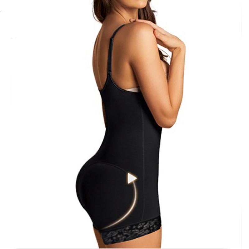 Bundas Enhancer Shapewear Body Shaper Mulheres Frente Zipper Body Shaper Slimming Barriga Weist Trainer Corset Body Mulheres Barriga Shaper