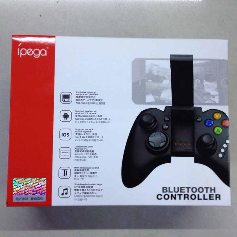 100% Nova Ipega Jogo Sem Fio Bluetooth Joystick Controladores Gamepad Para Xiaomi Caixa De Tv Android Ios Ipad Iphone Samsung Tablet Pc