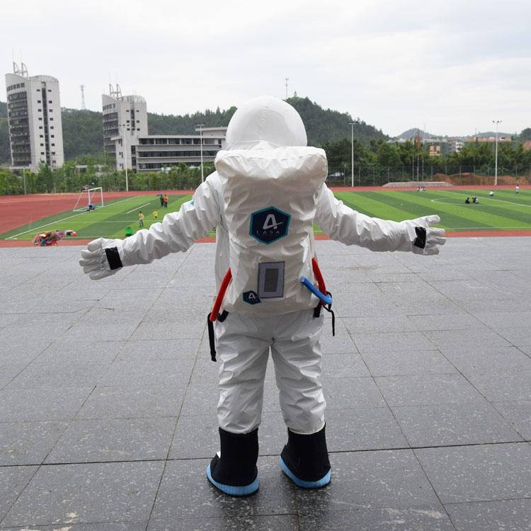 Novo Espaço Terno Traje Da Mascote Astronauta Pa Cor Fantasia Party Dress Terno Traje Do Carnaval