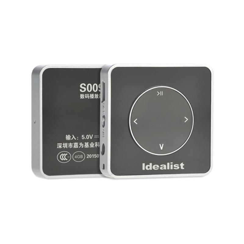 Idealista 100% Marca Original Ultrafino 4 Gb Mp3 Player Usb Mp3 Player Portátil Mini Sport Music Mp3 Player Com Braçadeira & Colhedor
