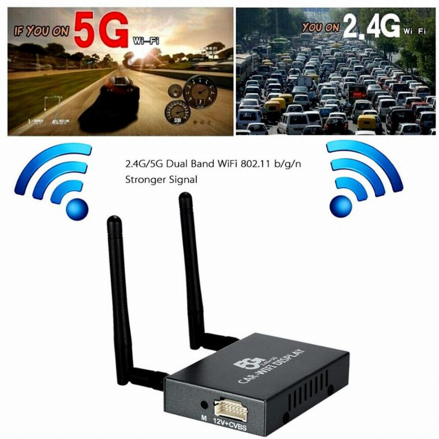 Pvt 898 5G/2.4G Carro Wi-Fi Exibição Dongle Receptor Airplay Airsharing Dlna Espelhamento Miracast Full Hd 1080 P Hdmi Tv Varas 3251