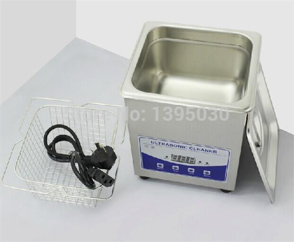 2L-220 V Digital Ultrasonic Cleaner Domicílios (Jp-010T) Para Vidro Jewely Shaver Limpeza Pcb