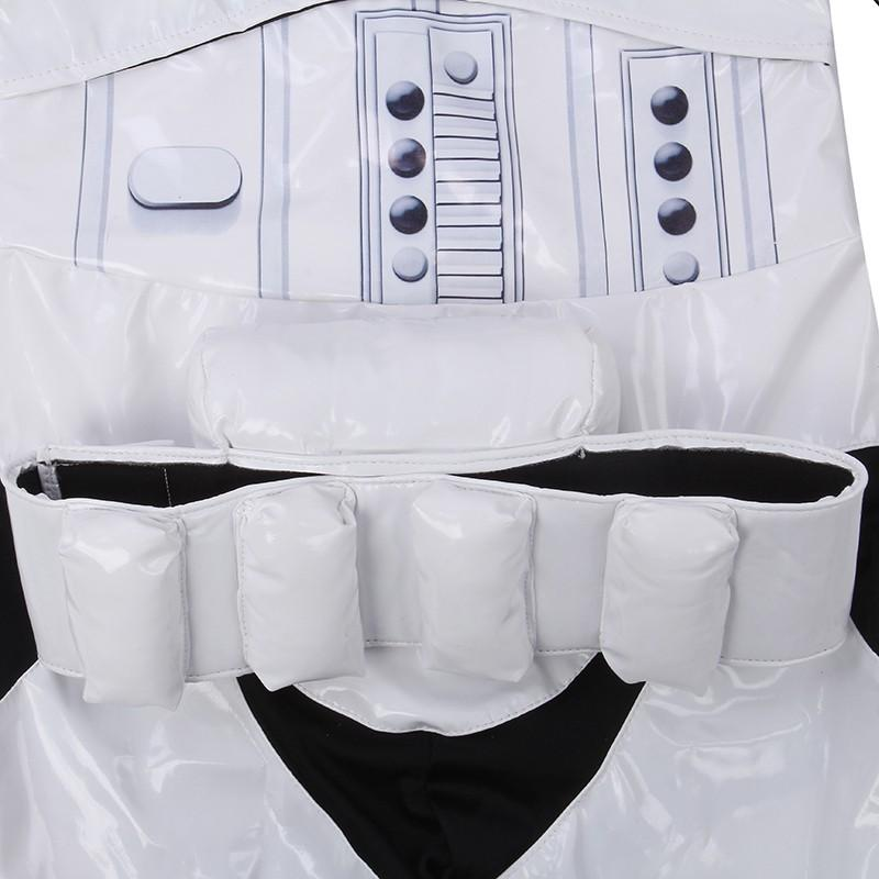 Nova Criança Menino Deluxe Star Wars The Force Desperta Storm Troopers Cosplay Fancy Dress Crianças Halloween Traje Do Partido Do Carnaval