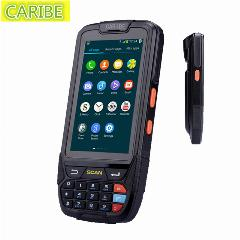 1D Scanner De Código De Barras 4G Wifi Nfc Rugged Pda Android