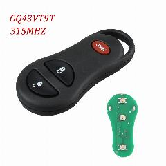 3 Bnt Keyless Remoto Key Fob Clicker Transmitte Para Jeep Grand Cherokee 56036859