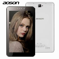 4G Aoson S7 Pro 7 Polegada 4G Lte-Fdd Phablet Hd Ips Android 6.0 Phone Call Tablet Pc Quad Core Dual Cam Wifi Bluetooth 7 8 10 10.1