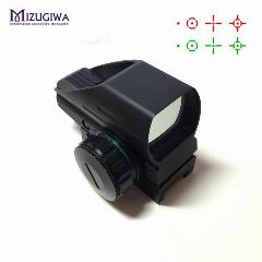 Ak Tático Holográfica 1X22X33 Reflex Red Dot Sight Verde Vermelho Dot Reflex Scope 20Mm Rail Caça Caza Viseur Ponto Rouge Chasse
