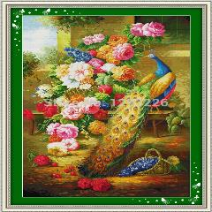 Atacado Undone Diy Cross Stitch Patterns Define 9Ct, 11Ct, 14Ct Bordados Feitos À Mão Diy Kits Navio Livre, Grande Riqueza (2)