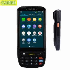 Caribe Pl-40L Pda Industrial Android Barcode Scanner 1D Android Com Psam Terminal Sem Fio E 4G