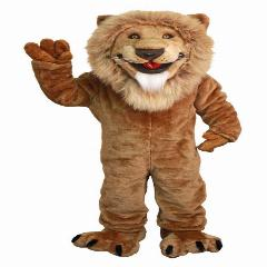 Friendly Lion Mascot Costumes 100% Real Picture Adults Christmas Halloween Outfit Fancy Dress Suit