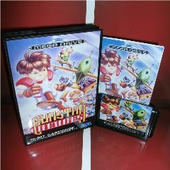 Gunstar Heroes Tampa Da Ue Com Caixa E Manual Para Sega Megadrive Genesis Video Game Console 16 Bits Cartão Md