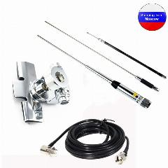 Hh-9000 Antena Móvel Quad Band Set 29.6/50.5/144/435 Mhz Para Tyt Th-9800 Qyt Kt7900D Kt8900 Rádio