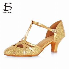 Hot Brand New Woman Ballroom Latin Tango Dance Shoes 5//7 CM Heeled Dancing Salsa