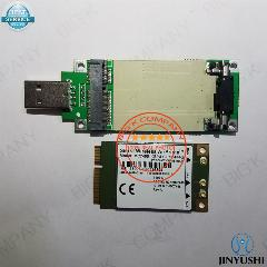 Jinyushi Para Sierra Wireless Mc7455 + Pcie Para Adaptador Usb Fdd/tdd Lte  4G Cat6 Dc-Hspa + Gnss Usb 3 0 Interface Mbim