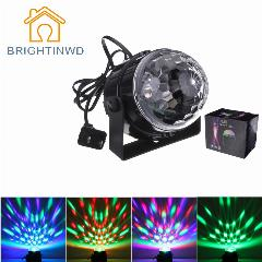 Mini Popular Led Rgb Cristal Magic Ball Stage Efeito De Iluminacao Lampada Festa Disco Luz 100 240 V Ue Eua Plugue Soundlights Holofotes