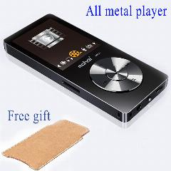 original hifi mp3 player com speaker metal ape flac wav som de alta