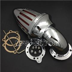 Para Harley S & S Costume Cv Evo Xl Sportster Chrome Air Filter Cleaner Intake Kits