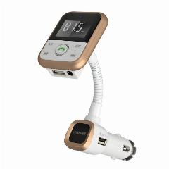 Sem Fio Bluetooth Car Kit + Transmissor Fm + Mp3 Player Suporte Usb Sd Card + Line-In Jack De 3.5Mm + Usb Carregador