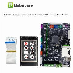 Stm32 Makerbase Mks Controlador De Robin Robin Circuito Integrado Mainboard  Mother Board Com Display Tft Software De Código Fechado