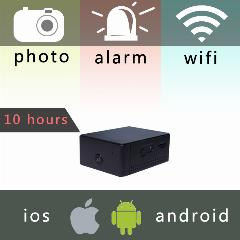 Zn62 Mini Bateria Portátil Camera P2P Sem Fio Wifi Gravador De Vídeo Para Ios Iphone Android Phone App Remote View