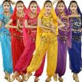4 Pcs Define Sexy Egito Índia Trajes De Dança Do Ventre Trajes Indianos De Bollywood Dress Dress Womens Dança Do Ventre Roupas De Dança Do Ventre