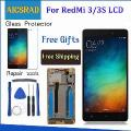 """Q&y Qyjoy Lcd Display+Digitizer Touch Screen Assembly For Xiaomi Redmi 3 Hongmi3 Redmi3 Cellphone 5.0 """" 1280*720 Free Tools"""